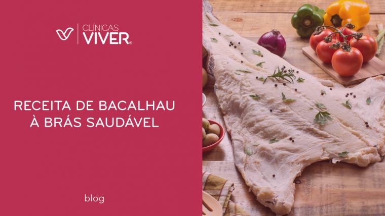 Receita de Bacalhau à Brás Saudável