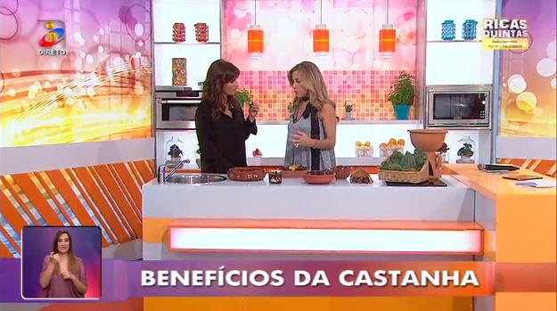 Drª Alexandra Vasconcelos no Você na TV – Benefícios da castanha